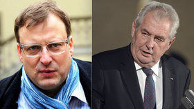 Kauza rakovina: Bartík nemá 250 tisíc na pokutu Zemanovi, prosí lidi o peníze