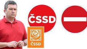 Z ČSSD si utahují kvůli novému logu. Politolog ho přirovnal k zákazové značce