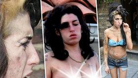 9 let od smrti Amy Winehouse (†27): Poslední fotografie před smrtí!
