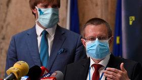 """""""Nepříjemné překvapení."""" Expert přes statistiky Dušek promluvil o koronaviru v Česku"""
