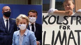 """Greta se zlobí po summitu EU: """"Popírají fakta!"""" Naštval ji přístup ke klimatické krizi"""