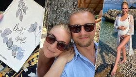 Těhotná Markéta Konvičková plánuje svatbu a bydlení! Co do porodu nestíhá?