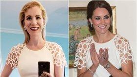 Američanka se obléká jako Kate nebo Meghan. Outfity už ji stály statisíce!