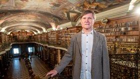 Národní knihovna má nového šéfa: Richter tam pracuje 50 let, chce řešit rozpočet