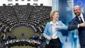 Dohodu lídrů EU i Babišovy sliby dostanou na stůl europoslanci. Mají problém se škrty