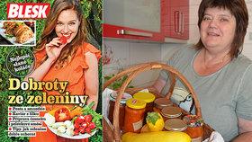 Nová kuchařka Blesku Dobroty ze zeleniny! Recepty na netradiční zavařování ZDARMA!