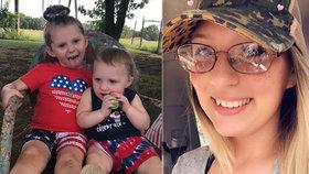 Matka nechala dcerky v rozpáleném autě a šla spát: Starší (†3) zemřela, sestřička (1) bojuje o život