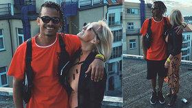 Ben Cristovao v objetí s atraktivní blondýnkou! Když ukázala tvář, fanoušci oněměli
