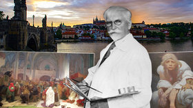 Coby mladík v Praze neuspěl, jako velikán ji přerostl. Před 160 lety se narodil Alfons Mucha (†79)