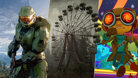 Xbox Series X vystrkuje růžky: Halo Infinite kampaň je pecka, S.T.A.L.K.E.R. 2 a Psychonauts 2 odhaleni