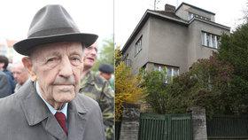 Zesnulý pohlavár Milouš Jakeš (†97): Na jeho vile vydělali 45 milionů