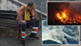 Řecko v plamenech: Dovolenkový ráj trápí rozsáhlé požáry, živel se nedaří zkrotit