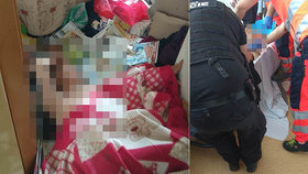Stařenka (89) z Přerova několik dní ležela doma na zemi: Zachránili ji strážníci