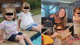 Natalie zmizela se svými dcerami (†2 a †4): O den později byly nalezeny mrtvé na odlehlém parkovišti