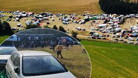 2000 lidí se sjelo na technoparty k Benešovu. Kromě hluku se řešila i opatření kvůli viru