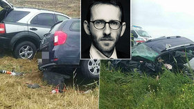 Při nehodě zemřel státní tajemník (†38) na Slovensku. V nemocnici jsou manželka a syn (2)