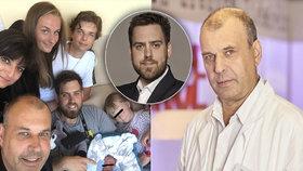 Trojnásobný dědek Petr Rychlý: Díky hvězdě krimi zpráv má další vnouče!