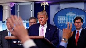 Trumpův blízký muž se nakazil covidem-19. Bílý dům promluvil o ohrožení prezidenta