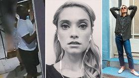 Krásná seriálová hvězda se stala obětí útoku šílence: Agresor ji v restauraci pořezal nožem