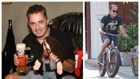 Dejdar prodává Schwarzeneggera! Projížďka na kole za 20 000 dolarů