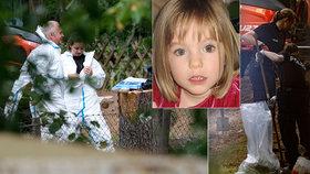 Najdou tělo ztracené Maddie? Policie prohledává zahradu v Hannoveru!