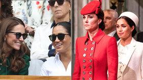 Drsný útok na vévodkyni Kate: Dě**a a anorektička! Meghan zareagovala podivně