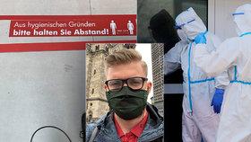 Vyděšení Brazilci a přirážka za toaletní papír: Ondřej popisuje pandemii v Německu