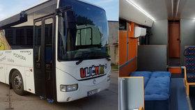 """Uličník pro """"uličníky"""". Speciálně upravený autobus v Praze 4 zabaví děti během letních prázdnin"""