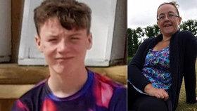Chlapec (†14) spáchal sebevraždu: Zemřel rok poté, co mu rakovina vzala maminku