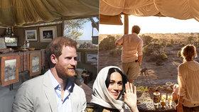Místo, kde Meghan podlehla Harrymu: Randili v tomhle luxusním kempu!
