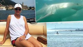 Důchod slavila s dcerou na pláži: Julii při koupání zabil žralok!