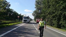 Tragická nehoda na Žďársku: Cyklista po srážce s osobákem zemřel