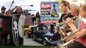 Tipy na víkend: Jazzový Hradec, oslava dožínek u Keltů i Slavnosti Třeboně