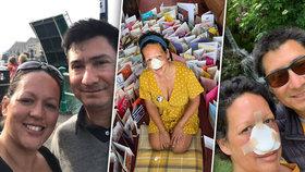 Julii (40) kvůli rakovině vzali nos a horní patro: Původně myslela, že má ucpaný nos