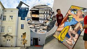 Požár v Museu Kampa vzácná díla naštěstí neponičil. O víkendu bude znovu otevřeno