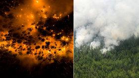 Sibiř zažila rekordních 38 °C, pak přišly požáry. Jedovatý dým teď ohrožuje Jakutsk