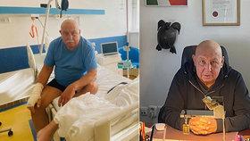 Andrej Hryc (70) o boji s leukemií: Na rovinu řekl, co ukázaly výsledky rozboru krve!