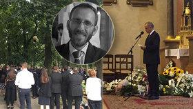 Poslední rozloučení se státním tajemníkem (†38): Kiska chválil, Čaputová poslala věnec
