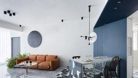 Apartmán po rekonstrukci zdobí světlo, barvy a chytré řešení prostoru