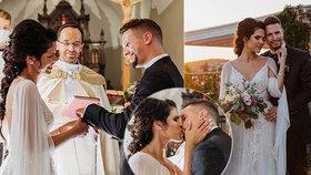 Kráska z Hlasu se vdala! V pohádkových svatebních šatech řekla před Bohem ano