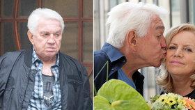 Jiří Krampol o smrti milované Hanky (†59): Před třemi dny jsem měl předtuchu!