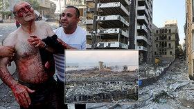 """""""Byly slyšet bombardéry,"""" popisují chvíle před explozí svědci. Útok v Bejrútu zmínil i Trump"""