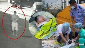 Otec vyhodil svou novorozenou dceru do odpadků. Měla ještě připevněnou pupeční šňůru