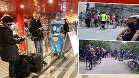 """""""Masakr"""" na dovolené v Česku: Turisté se děsí davů na oblíbených místech. A co virus?"""