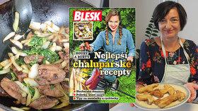 Nejlepší chalupářské recepty ZDARMA v Blesku! Zkuste játra po brazilsku nebo houbovou tečku!
