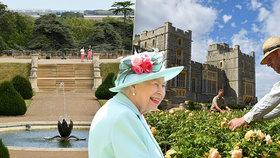 Tady se skrývala Alžběta II. během pandemie: Hrad Windsor po letech ukáže nádhernou zahradu