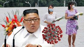 Koronavirus u nás nemáme, tvrdí stále Kim. Přesto KLDR poslala tisíc lidí do karantény