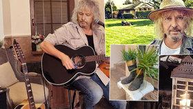 »Italská« hacienda Petera Nagyho (61): Obří zahrada a zvláštní dekorace! Buduje i po třech letech