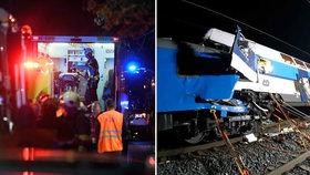 Oběti vlakových nehod u Perninku a Českého Brodu dostaly peníze se sbírky: Rozdělily si 400 tisíc