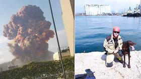 Češi v Bejrútu se museli stáhnout. Obětí je už 158, mezi nimi i žena velvyslance